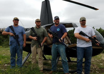 helicopter hog hunting packages TX