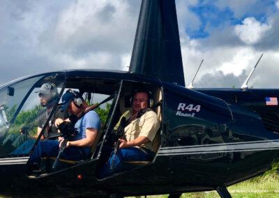 Helicopter Hog Hunting Banner