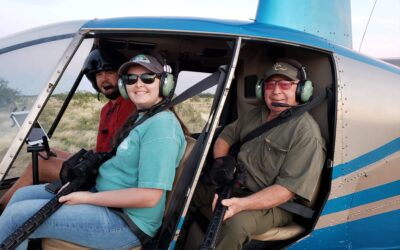 Dick's great experience Helicopter Hog Hunting in Texas!